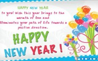 Happy new year greetings for someone special