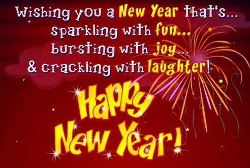sparkling with fun new year 2015