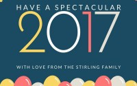 Happy New Year eCard 2017