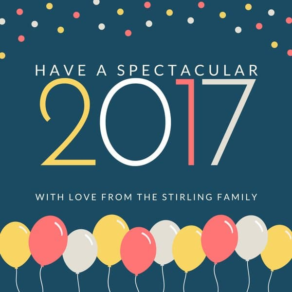 Image result for Happy New Year 2017 Cards