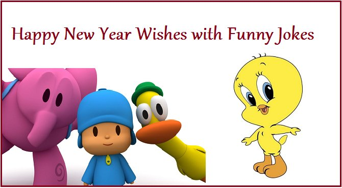 Happy New Year Wishes with Funny Jokes | NYWQ