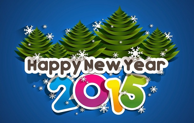 Happy new year Greetings 2015 for Daughter