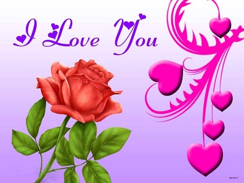 I love you messages for my sweetheart