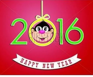 Happy Chinese new year 2016 in Chinese