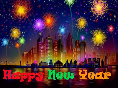 Happy new year wishes for Stepson