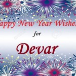 Happy New Year Wishes for Devar