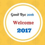 Good Bye 2016 Welcome 2017