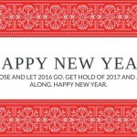 Happy New Year Latest eCard 2017