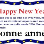 Happy New Year Wishes Messages in French