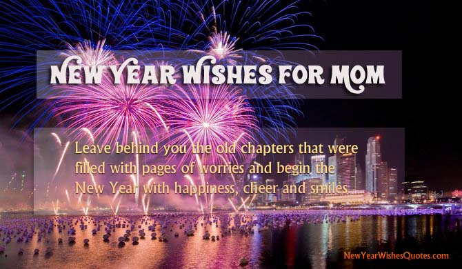 Happy New Year Wishes Quotes for Mom