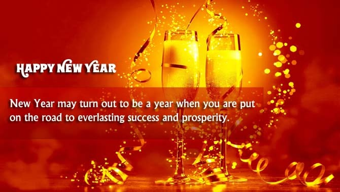 Happy New Year Wishes for Colleague