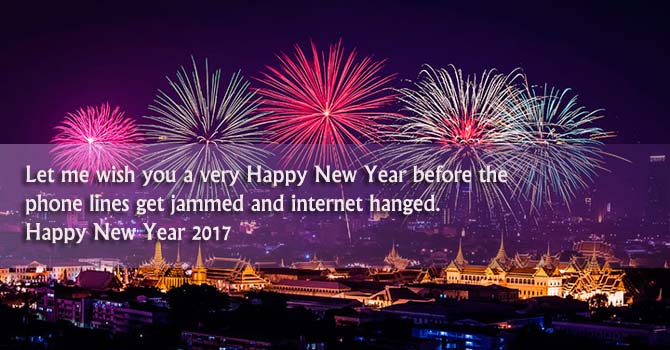 happy new year wishes for facebook status