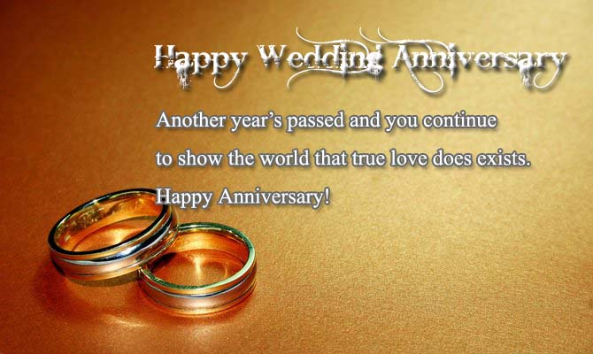Happy Wedding Anniversary Wishes to Sister